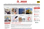 Website der Deus Logistik in Oldenburg